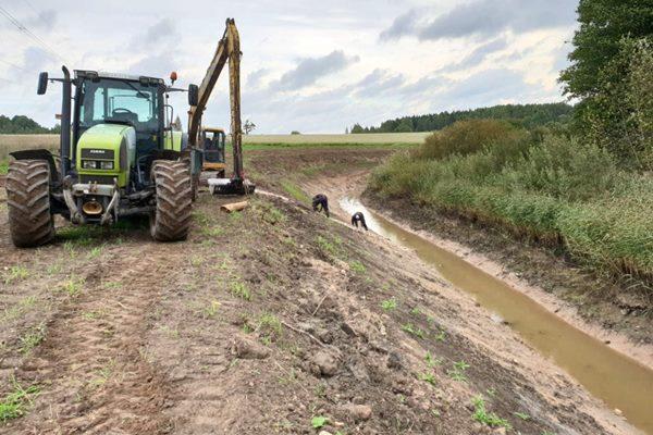 Turpinās valsts nozīmes ūdensnoteku atjaunošanu Latvijas – Krievijas robežjoslā