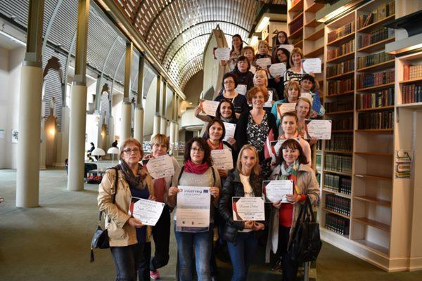 Ludzas bibliotekāri gūst pieredzi Berlīnē