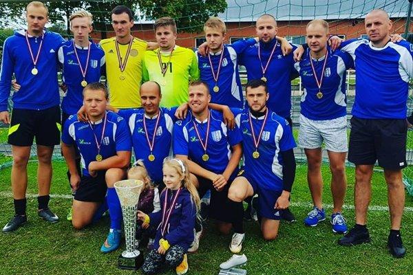 Futbola komanda LUDZA uzvar ZiemeļAustrumu minifutbola turnīrā 7×7