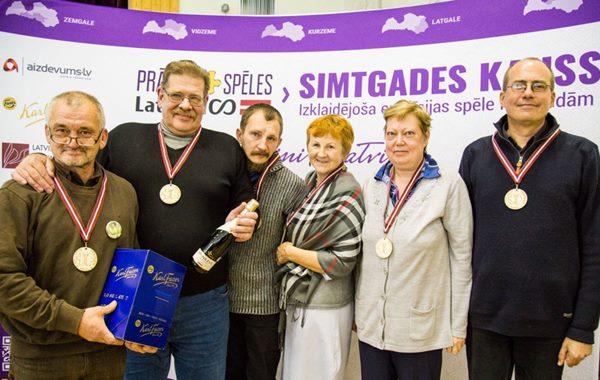 Prāta Spēļu Simtgades kausa pusfinālā Ludzas komanda ieņem 1.vietu