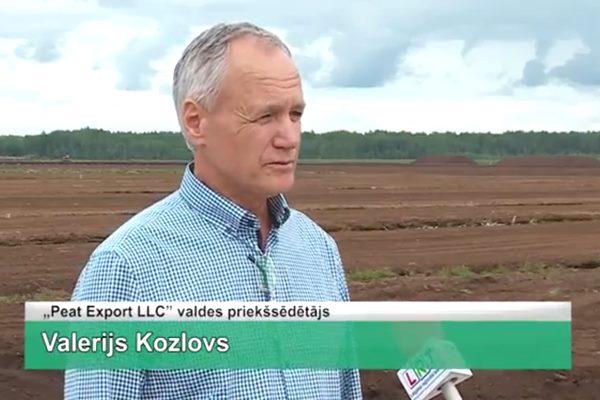 LRTV video: Peat Export LLC attīsta darbību Ludzas novada purvā