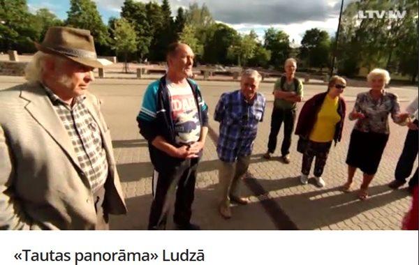 LTV video: Tautas panorāma ierodas Ludzā