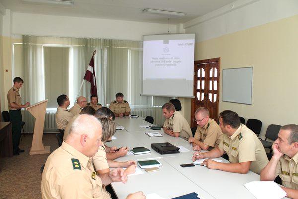 Valsts robežsardzes Ludzas pārvalde izvērtē pusgada darbības rezultātus