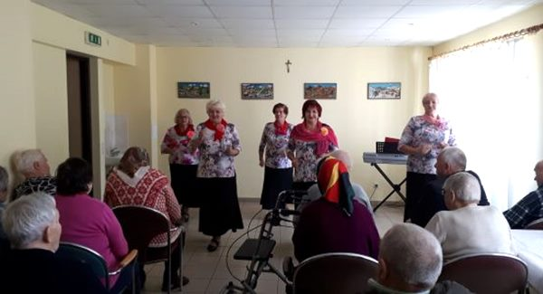 Pansionātā Mūsmājas atzīmē Starptautisko senioru dienu