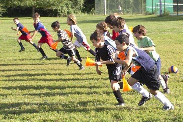 Ciblā jaunieši pavada 5 dienas sportiskā garā