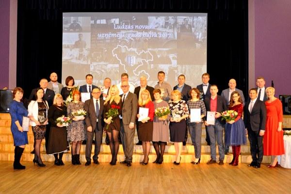 Izsludina konkursu Ludzas novada Uzņēmēju gada balvas saņemšanai