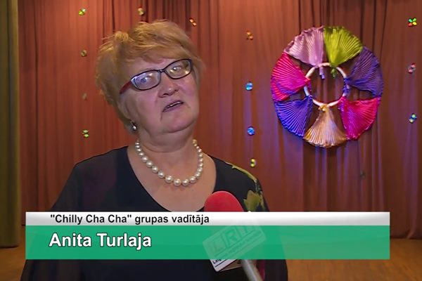 "LRTV video: Mežvidu KN līnijdeju grupai ""Chilly Cha Cha"" nosvinēta 15 gadu jubileja"
