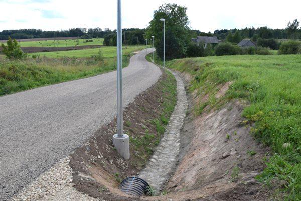 Grants ceļš Brigi-Brigu stacija nodots ekspluatācijā