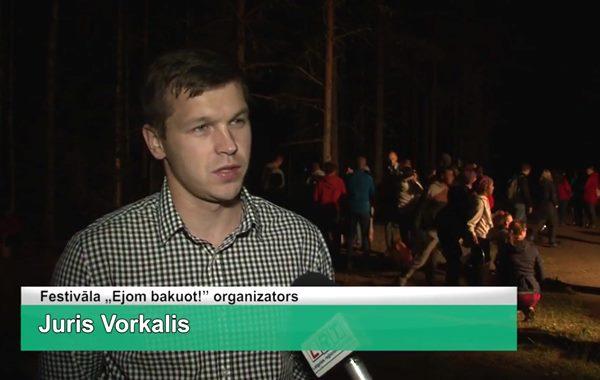 LRTV video: Sēņošanas entuziasti tiekas nakts sēņošanas festivālā
