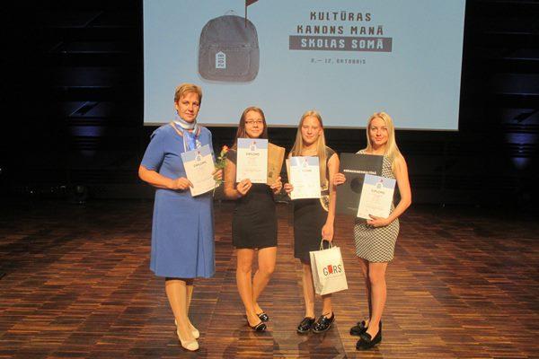 Kārsavas vidusskolas 11.a klases skolēni gūst uzvaru Latvijas Kultūras kanona konkursā