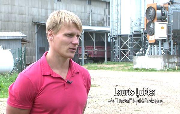 """LRTV video: Raidījums """"Sūpluok Latgolai"""" viesojas pie Kārsavas novada zemniekiem"""