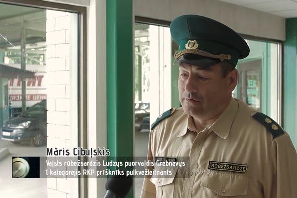 """VIDEO: """"Laika leigučuos"""" ieskatās Grebņevas robežkontroles punktā 90. gados un tagad"""
