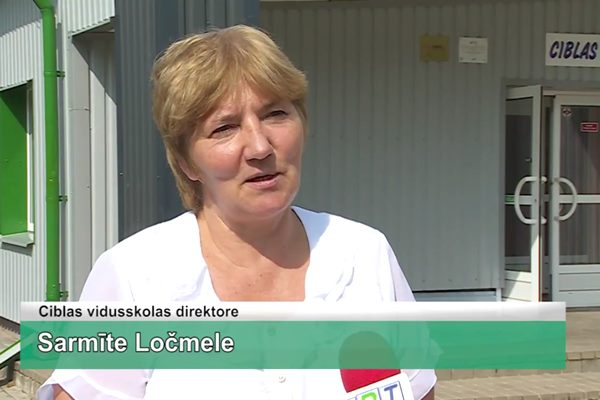 LRTV video: Ciblas vidusskolas stadionā rit intensīvs darbs