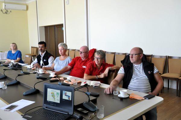 Ludzā viesojās Norvēģijas Sarkanā Krusta pārstāvji
