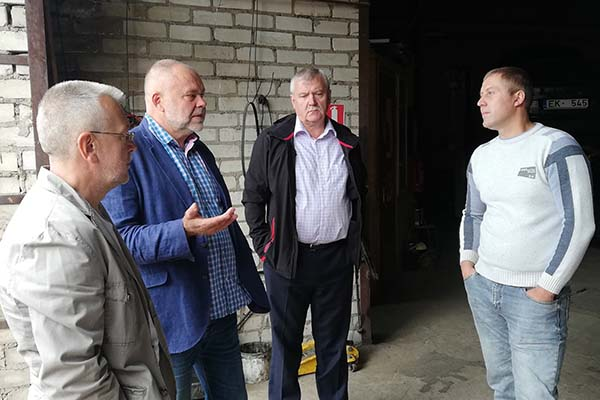 Deputāti viesojas pie Ludzas uzņēmējiem