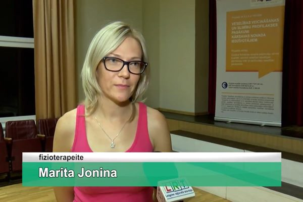 LRTV video: Mērdzenē turpinās pirms gada iesāktais veselības veicināšanas projekts