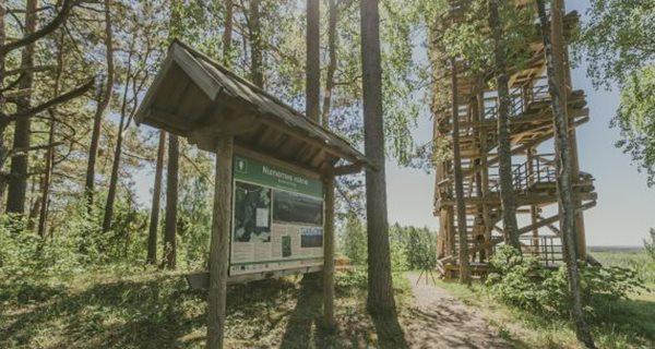 Virtuāla pastaiga pa dabas parka Numernes valnis ainavām