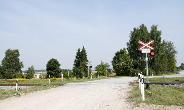 19. oktobrī dzelceļa pārbrauktuve posmā Mežvidi – Ilzēni būs slēgta
