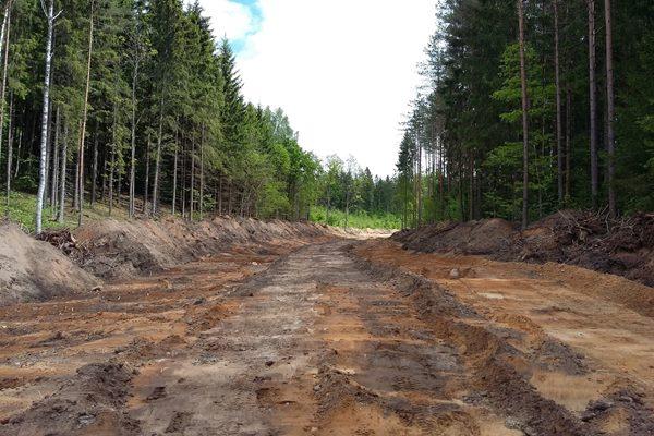 Ciblas novada mežos būvēs jaunus ceļus